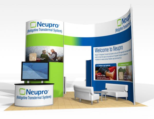 RE-9017 Trade Show Rental Exhibit -- Image 1